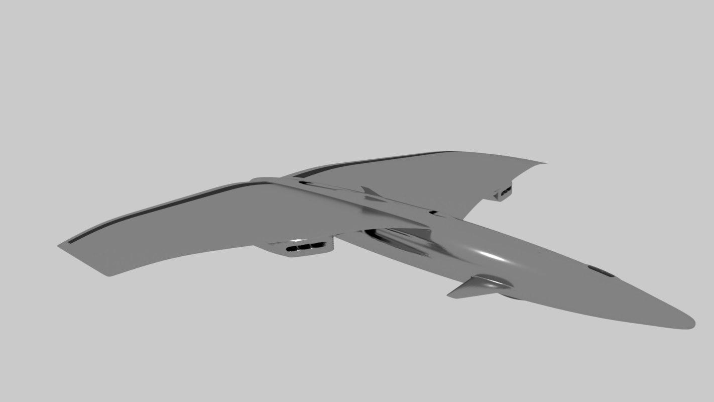 3D model drone future