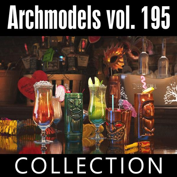 archmodels vol 195 3D