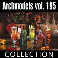 archmodels vol 195 3D