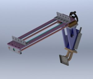 fine tuning retaining mechanism 3D model