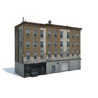 3D ready apartment building