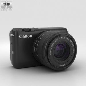 3D canon eos m10