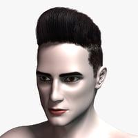 3D hair cards 4