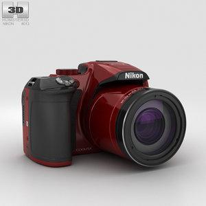3D nikon coolpix p610