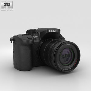 panasonic lumix dmc-gh4 3D model