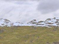 3D landscape background