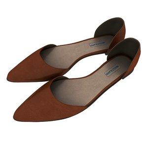 malono blahnik women shoes 3D model
