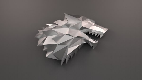 sigil house stark printed 3D model