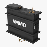 ammo crate clean model