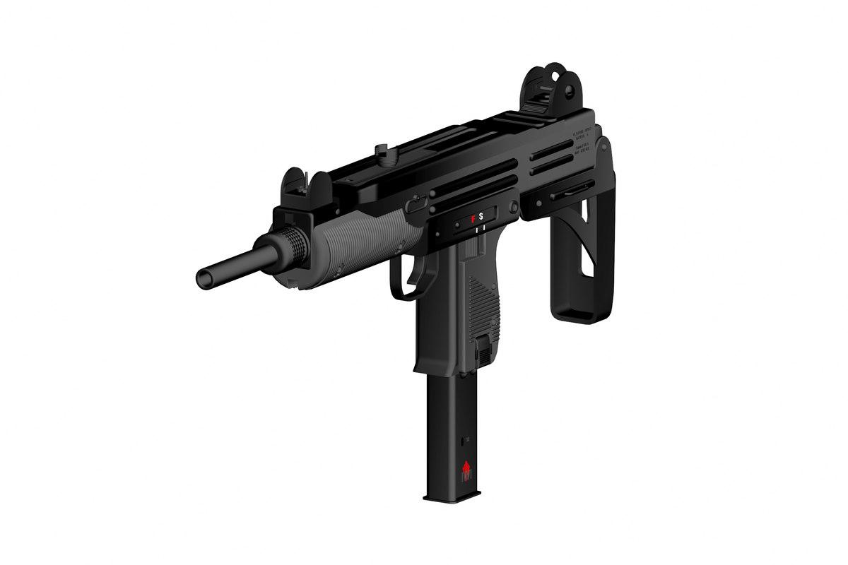 3D machine guns