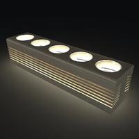 design candle 3D model