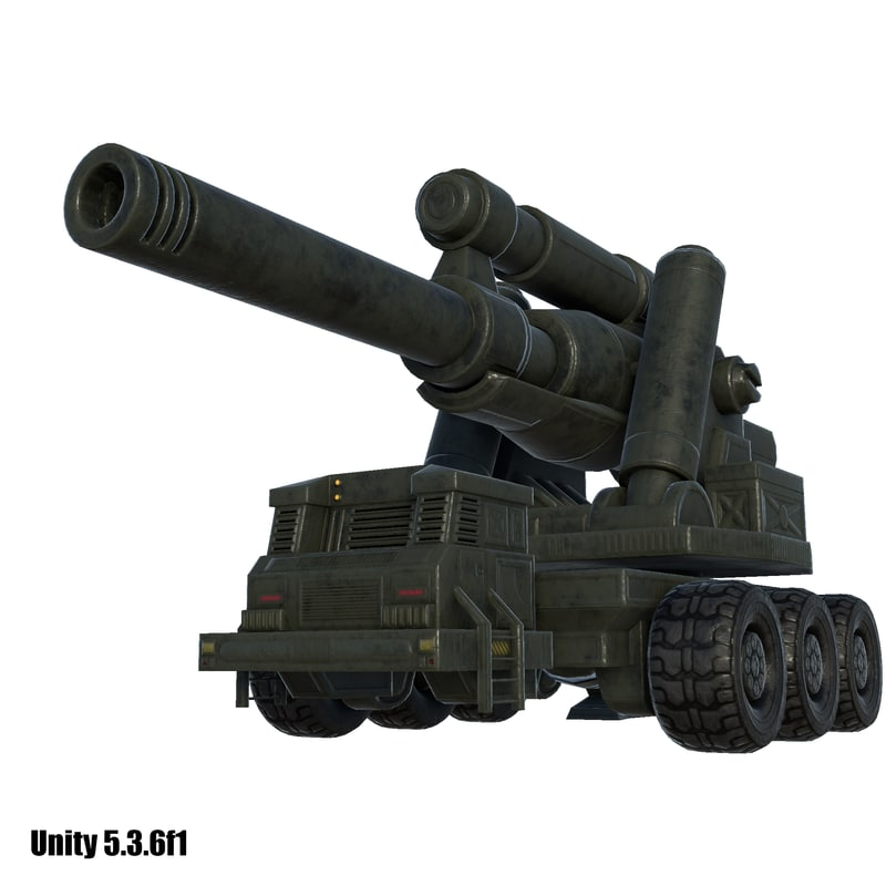 3D artillery