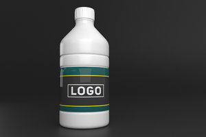 3D packaging bottle