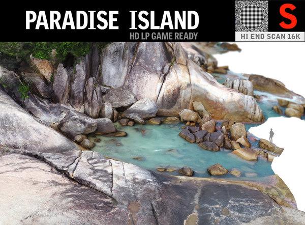 paradise island 3D