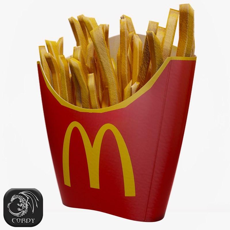 ready fries 3D