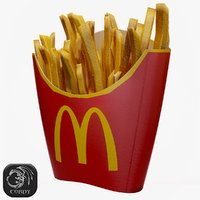 ready fries 3D