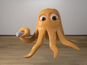 octopus oct 3D model