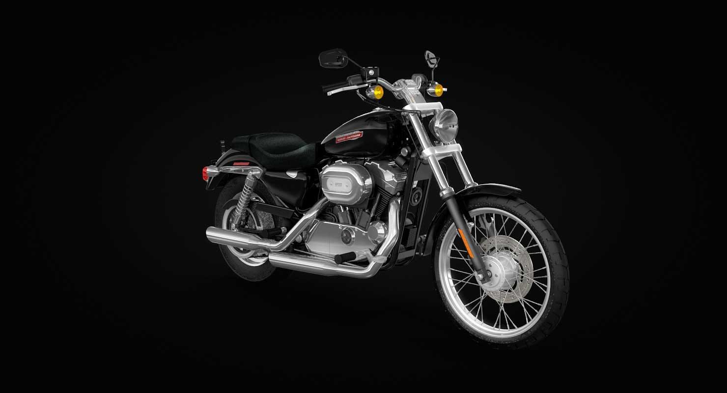 h-d sportster 1200 xl 3D model