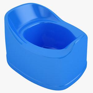 3D baby toilet
