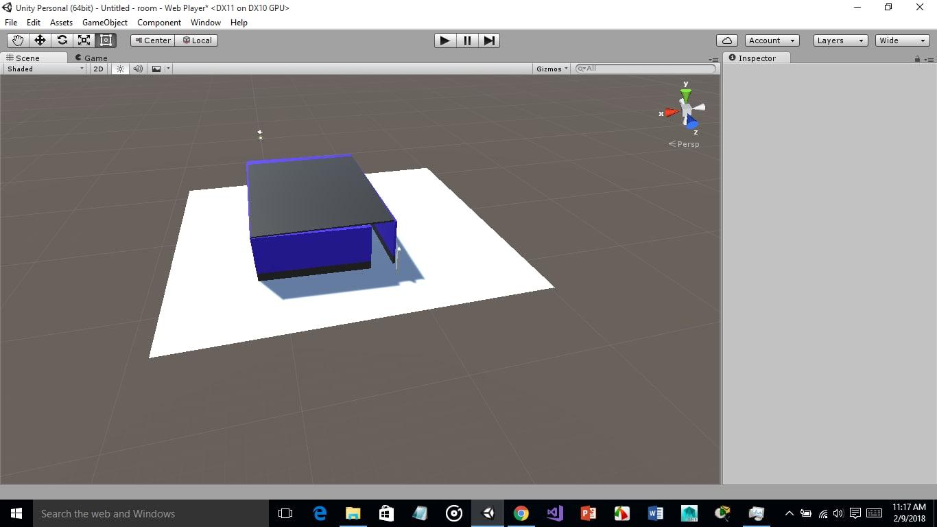 small room model