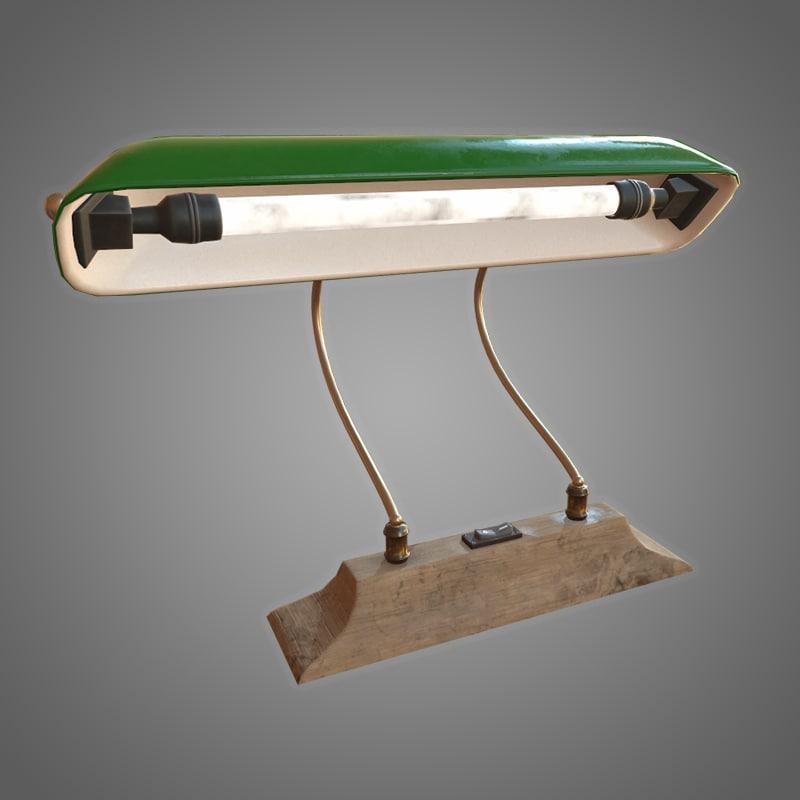 desk lamp - pbr 3D model