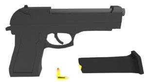 3D realistic m9 22 model
