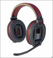 headphones gamer head 3D