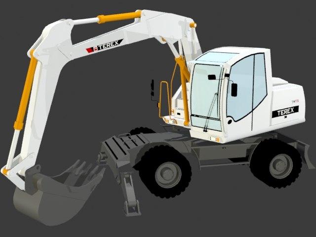 3D tractor tw 170