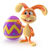 max rigged easter bunny rabbit