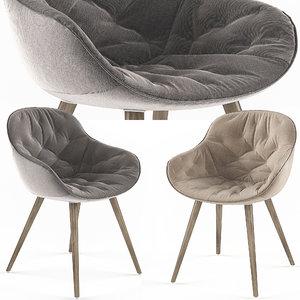 3D calligaris igloo soft chair