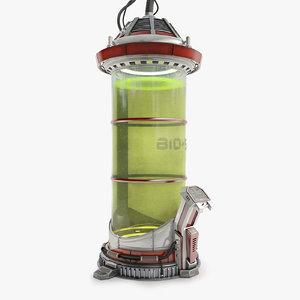 sci-fi tube 3D