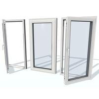 plastic window 1s 3D model