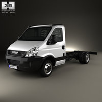 3D iveco daily single model