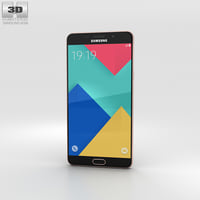 3D samsung a9 galaxy model