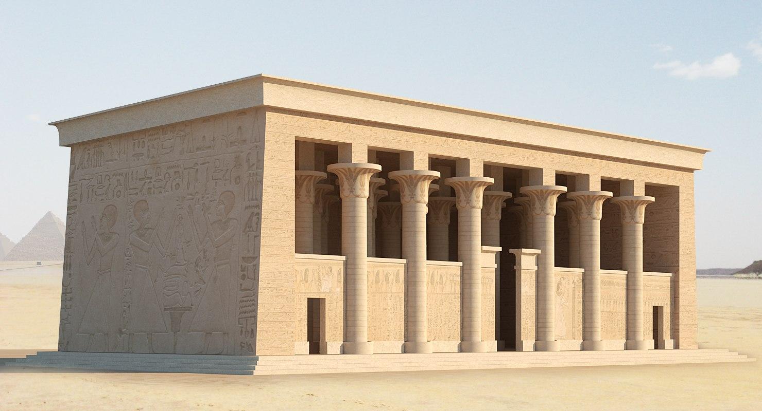 ancient egyptian 3D model