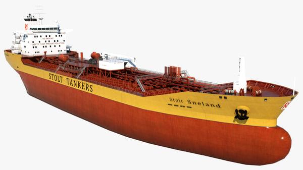 oil tanker stolt sneland model