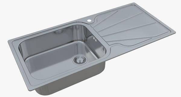 sink astracast korona 3D
