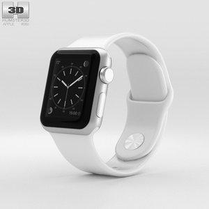 apple watch sport 3D model