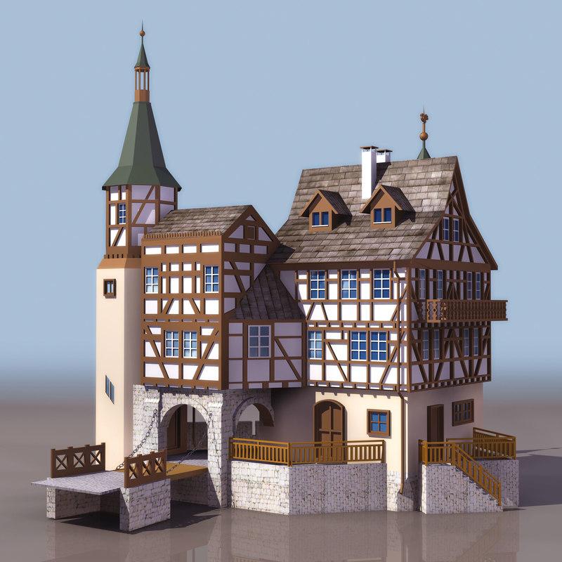 3D christian church