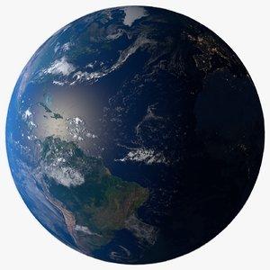 16k planet earth model