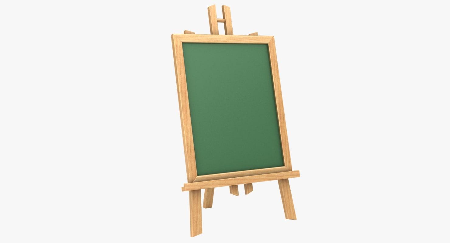 3D chalkboard 04