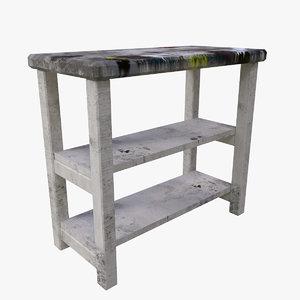 shelf paint 3D
