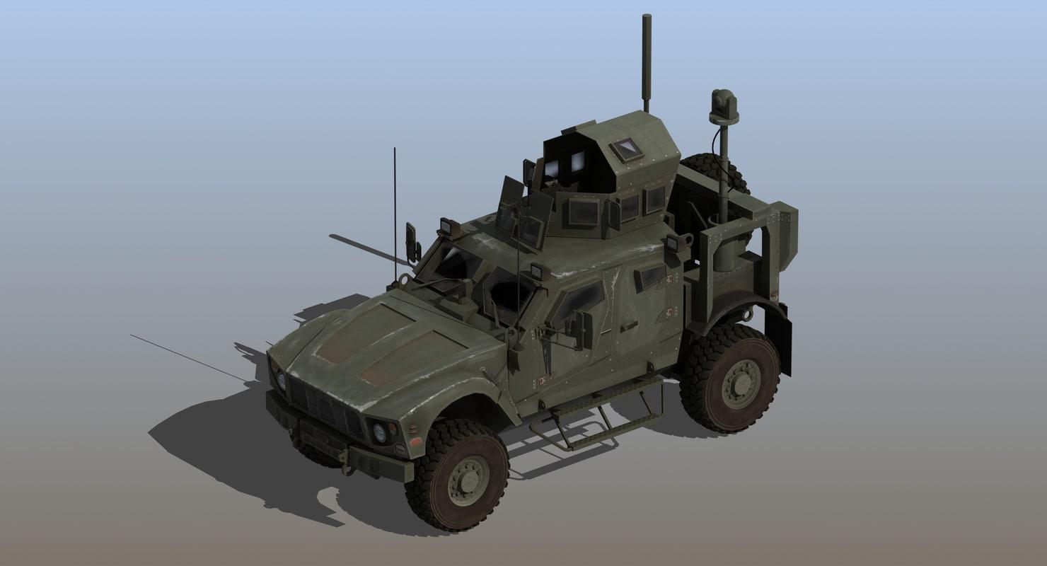m-atv army 3D