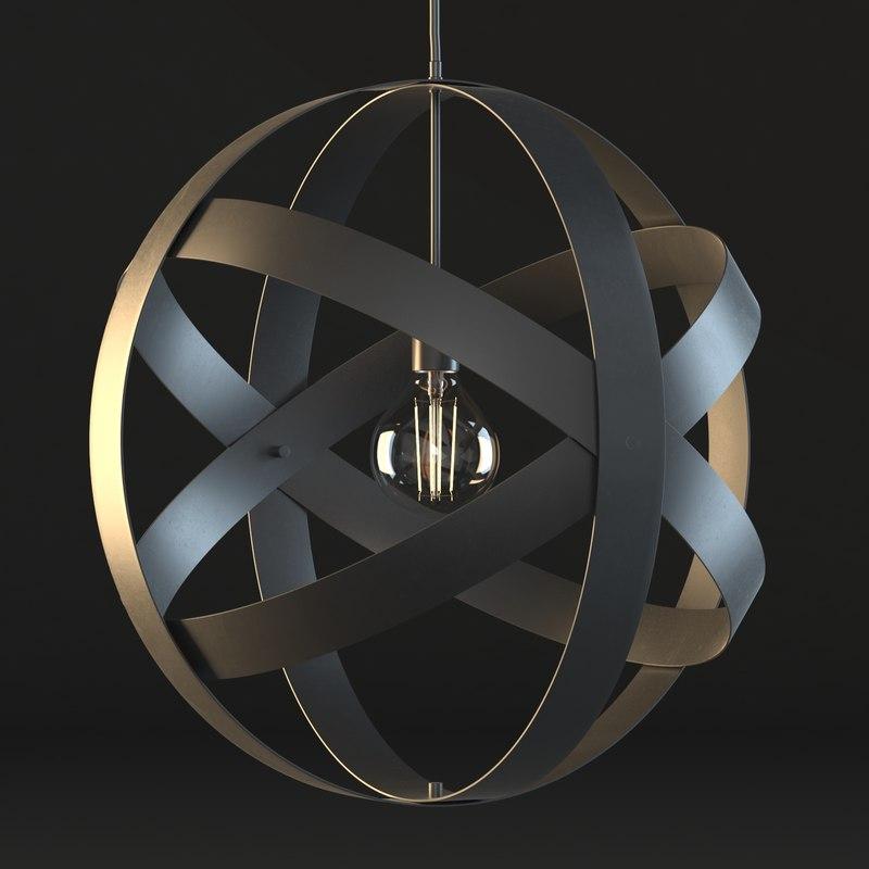 universe lamp bulb 3D model