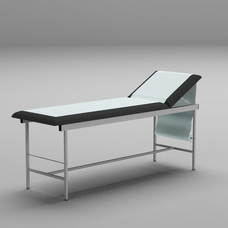 examination table model