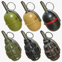 Grenades pack 01