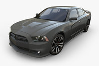 dodge charger 3D