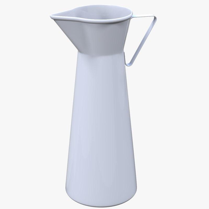 3D indoor jug jar