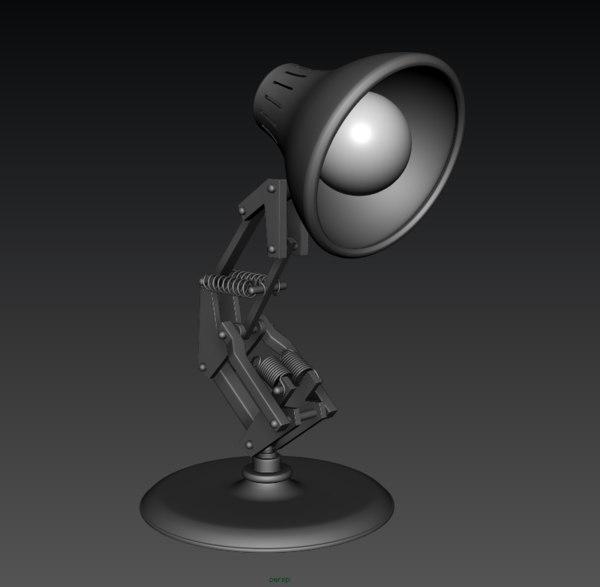 3D luxo jr model