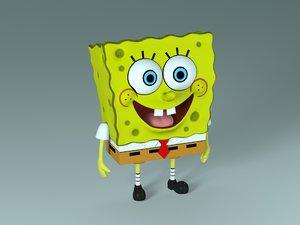 character spongebob squarepants 3D